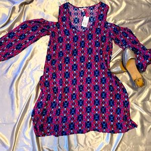 All For Color Tunic dress